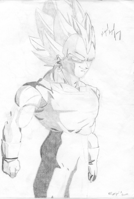 Akira Toriyama, Toei Animation, Dragon Ball, Vegeta, Super Saiyan Vegeta
