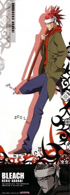 Studio Pierrot, Bleach, Renji Abarai, Stick Poster