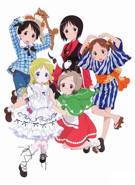 Kyuuta Sakai, Barasui, Ichigo Mashimaro, Candy Rain, Chika Itoh