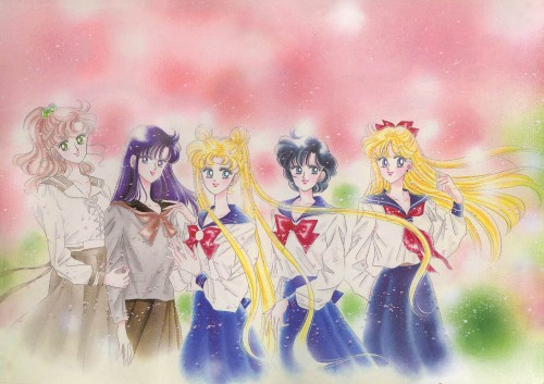 Naoko Takeuchi, Bishoujo Senshi Sailor Moon, BSSM Original Picture Collection Vol. II, Usagi Tsukino, Makoto Kino