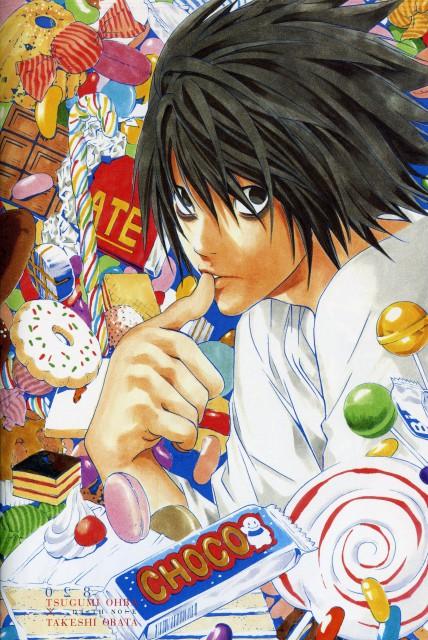 Takeshi Obata, Death Note, L