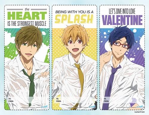 Kyoto Animation, Free!, Nagisa Hazuki, Rei Ryuugazaki, Makoto Tachibana