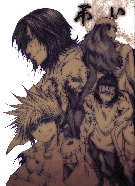 Kazuya Minekura, Studio Pierrot, Saiyuki, Salty Dog III, Goudai Sanzo