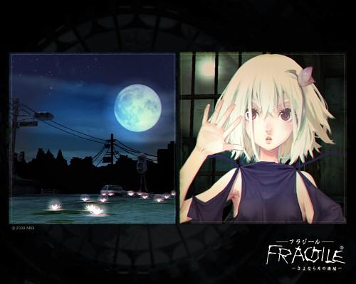 Bandai Visual, tri-Crescendo, Fragile Dreams, Ren (Fragile Dreams), Official Wallpaper