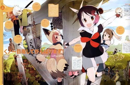 Okama, Himawari!, Yusura, Azami, Shikimi