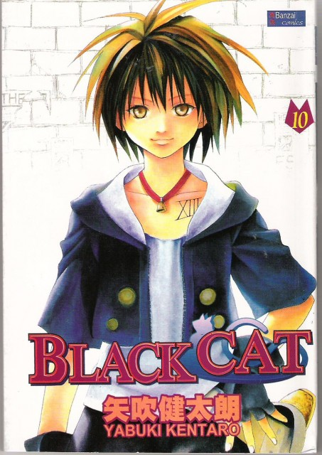 Kentaro Yabuki, Black Cat, Train Heartnet, Manga Cover