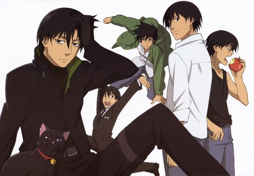 Yuji Iwahara, BONES, Darker than Black, Mao, Hei