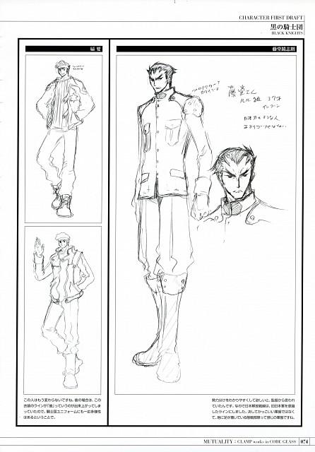 CLAMP, Takahiro Kimura, Sunrise (Studio), Lelouch of the Rebellion, Mutuality: Clamp Works in Code Geass