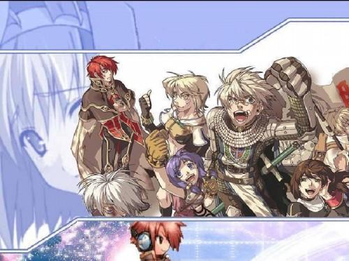 Ragnarok Online, Wizard (Ragnarok Online), Hunter (Ragnarok Online), Knight (Ragnarok Online) Wallpaper