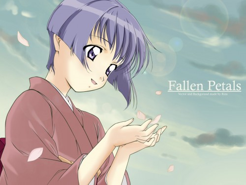 J.C. Staff, Ai Yori Aoshi, Aoi Sakuraba, Vector Art Wallpaper