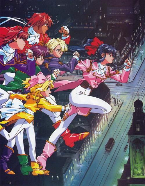 Kousuke Fujishima, Sega, Sakura Wars, Kanna Kirishima, Sumire Kanzaki