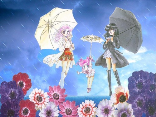 Naoko Takeuchi, Bishoujo Senshi Sailor Moon, BSSM Original Picture Collection Vol. V, Chibi Chibi, Chibi Usa Wallpaper