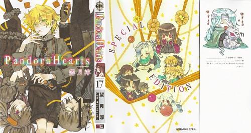 Jun Mochizuki, Xebec, Pandora Hearts, Alice, Levi Baskerville