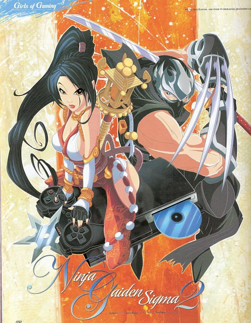 Tecmo, Ninja Gaiden, Momiji, Ryu Hayabusa