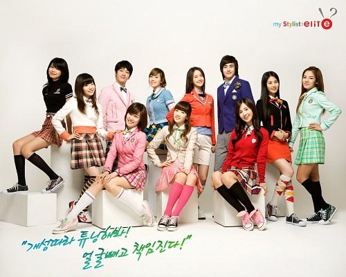 Tiffany, Yoona, Chansung, Seohyun, Yuri (Girls Generation)