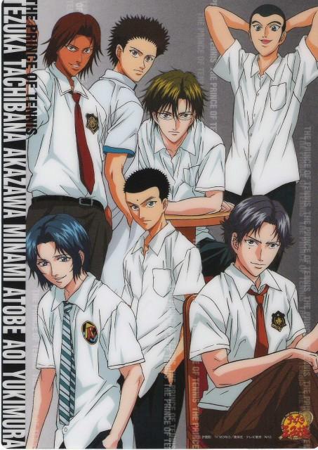 Takeshi Konomi, J.C. Staff, Prince of Tennis, Kunimitsu Tezuka, Yoshirou Akazawa