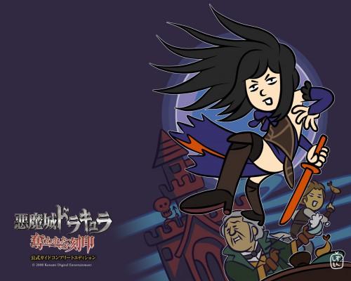 Ayami Kojima, Konami, Castlevania, Shanoa, Official Wallpaper