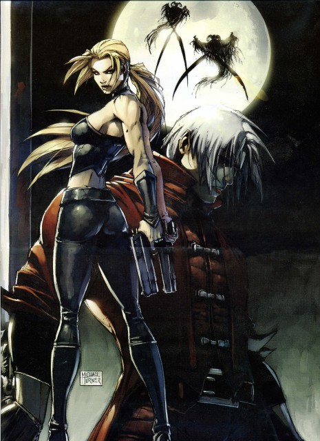 Michael Turner, Capcom, Devil May Cry, Trish, Dante