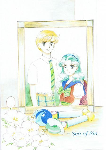 Yumiko Honda, Bishoujo Senshi Sailor Moon, Haruka Tenoh, Michiru Kaioh, Doujinshi Cover