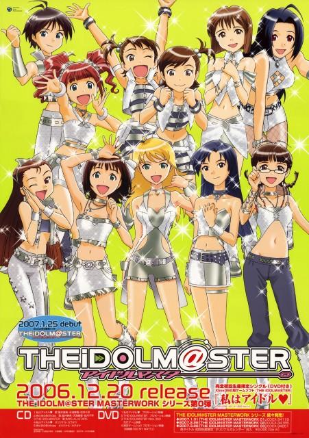 Annindofu, Idol Master, Azusa Miura, Mami Futami, Iori Minase