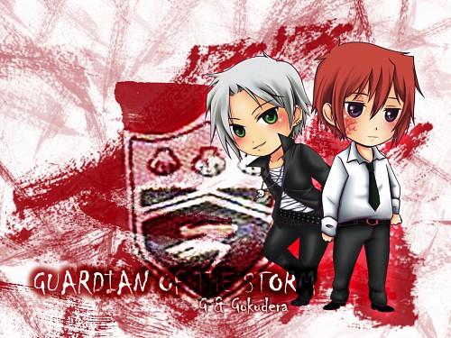 Akira Amano, Katekyo Hitman Reborn!, Hayato Gokudera, G., Member Art
