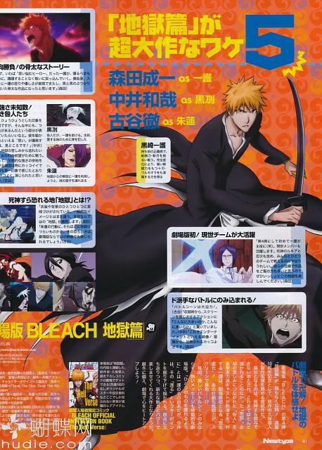 Studio Pierrot, Bleach, Uryuu Ishida, Rukia Kuchiki, Ichigo Kurosaki