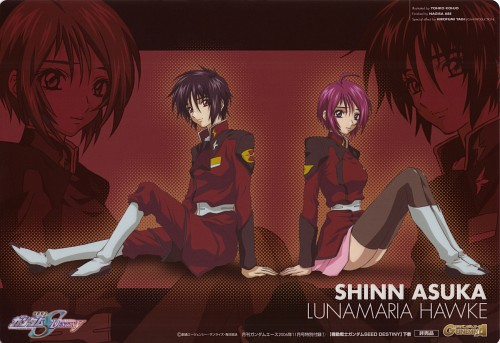 Hisashi Hirai, Sunrise (Studio), Mobile Suit Gundam SEED Destiny, Lunamaria Hawke, Shinn Asuka