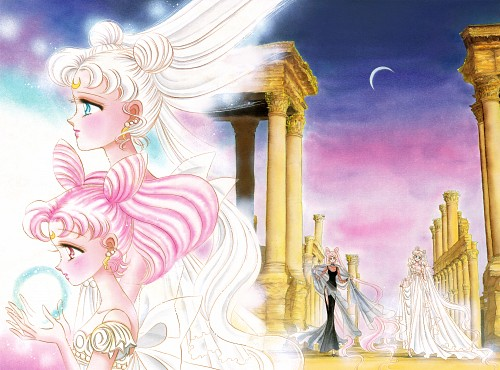 Naoko Takeuchi, Bishoujo Senshi Sailor Moon, BSSM Original Picture Collection Vol. II, Small Lady, Princess Serenity