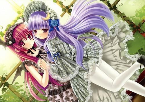 Konomi Kino, Touhou Girls Collection 3, Touhou, Patchouli Knowledge, Koakuma (Touhou)