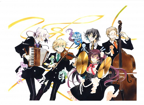 Jun Mochizuki, Pandora Hearts, Pandora Hearts ~odds and ends~, Alice (Pandora Hearts), Xerxes Break