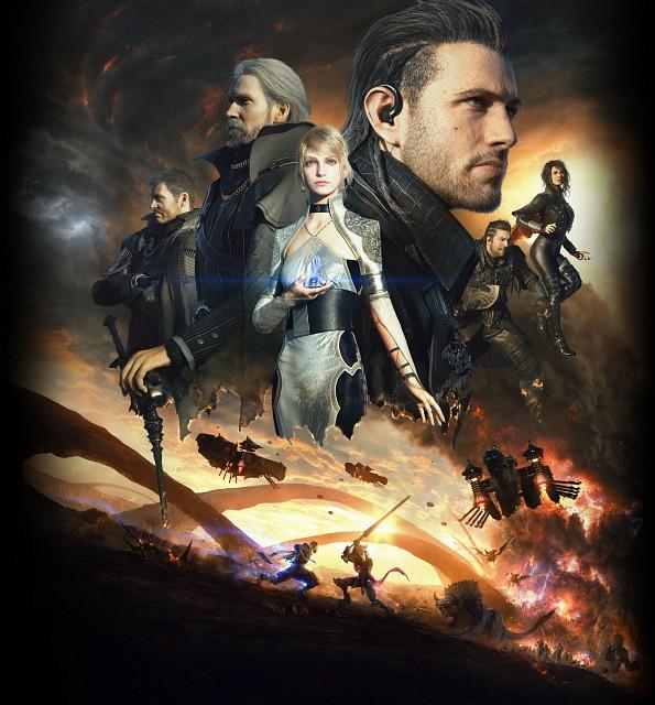 Final Fantasy XV, Crowe Altius, Libertus Ostium, Nyx Ulric, Titus Drautos