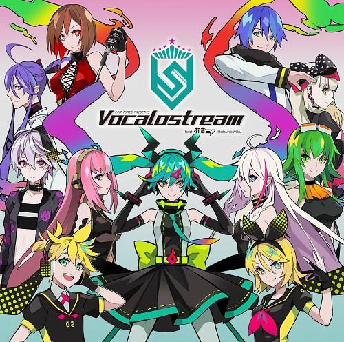 Vocaloid, Gumi, Kamui Gakupo, Rin Kagamine, Miku Hatsune