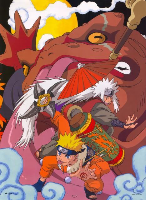 Studio Pierrot, Naruto, Gamabunta, Jiraiya , Naruto Uzumaki