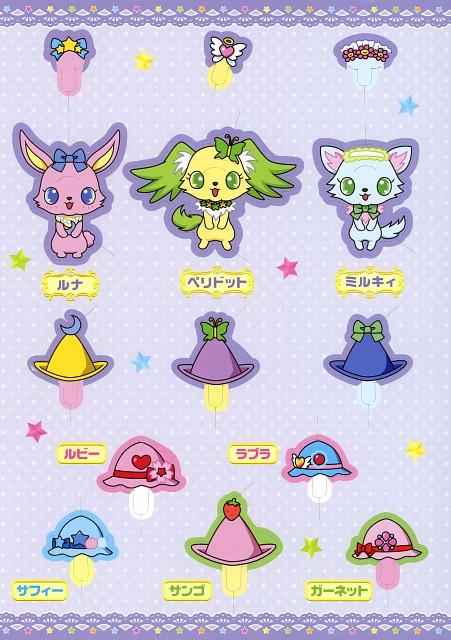 Studio Comet, Jewelpet Tinkle, Luna (Jewelpet Tinkle), Peridot (Jewelpet Tinkle), Milky (Jewelpet Tinkle)