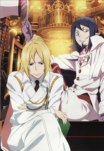 Mai Matsuura, A-1 Pictures, Ao no Exorcist, Mephisto Pheles, Arthur Auguste Angel