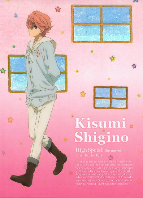 Kyoto Animation, Free!, Kisumi Shigino, Pencil Board