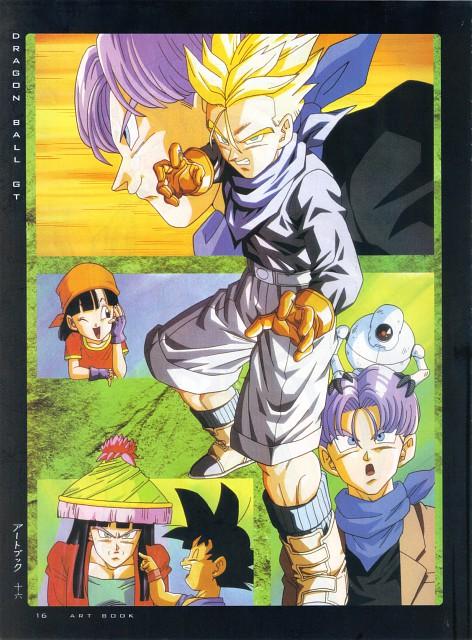 Akira Toriyama, Toei Animation, Dragon Ball, Fight - Artbook IV, Super Saiyan Trunks