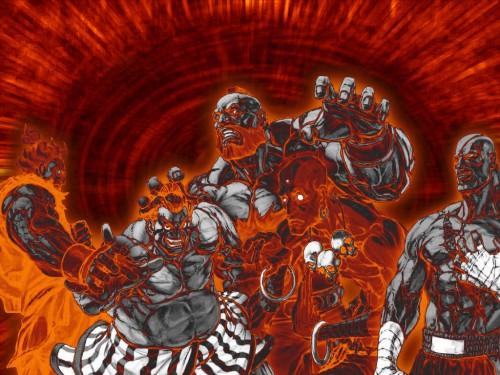 Capcom, Street Fighter Wallpaper