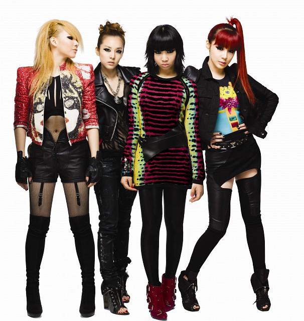 2NE1, Minzy, Bom Park, Sandara Park, CL (K-Pop Idol)