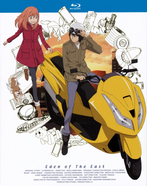 Chika Umino, Production I.G, Eden of the East, Akira Takizawa, Angelika
