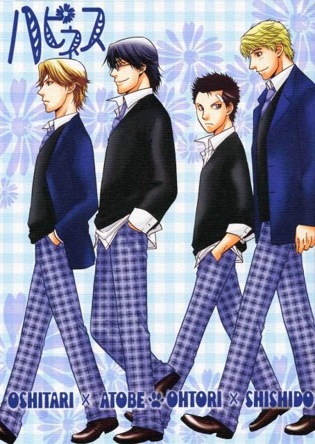 Kazuma Kodaka, Prince of Tennis, Ryo Shishido, Keigo Atobe, Yushi Oshitari