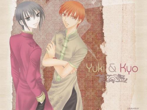 Natsuki Takaya, Fruits Basket, Yuki Sohma, Kyo Sohma Wallpaper