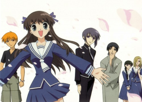 Natsuki Takaya, Fruits Basket, Shigure Sohma, Arisa Uotani, Tohru Honda