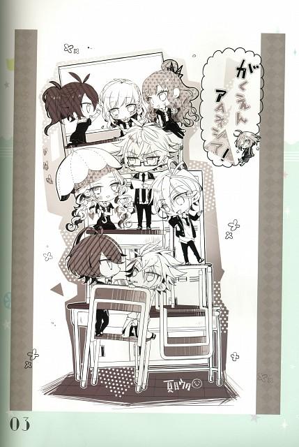 Mai Hanamura, Idea Factory, Candy Pot Uta Natsume Artbook, AMNESIA, Kent (AMNESIA)