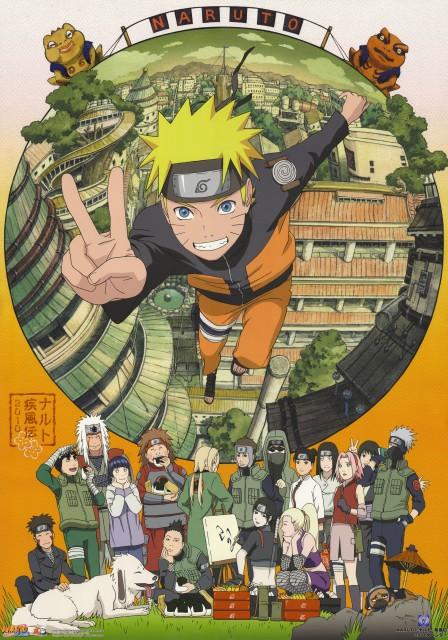 Studio Pierrot, Naruto, Jiraiya , Neji Hyuuga, Gamatatsu
