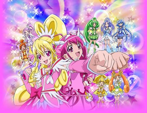 Toei Animation, Precure All Stars, Cure Heart, Cure Happy, Cure Beauty