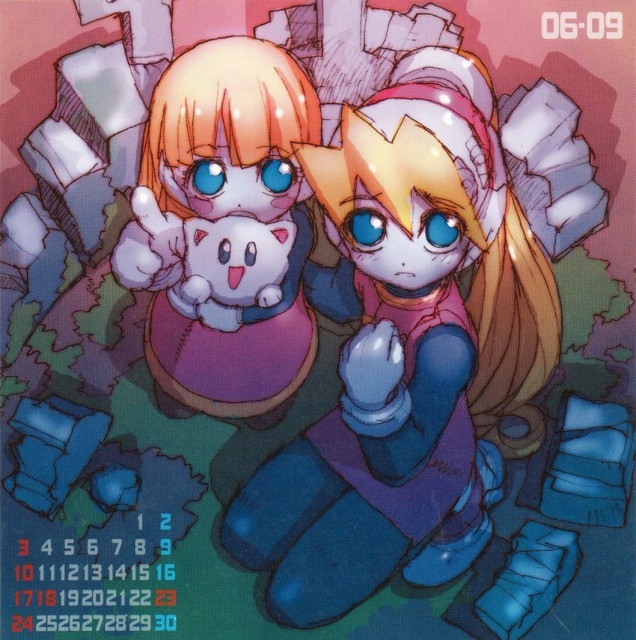 Capcom, Marvel vs Capcom 3, MegaMan, Roll Caskett, Calendar
