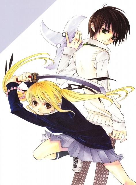 Yuuki Kamatani, Square Enix, Nabari no Ou, Miharu Rokujou, Raimei Shimizu