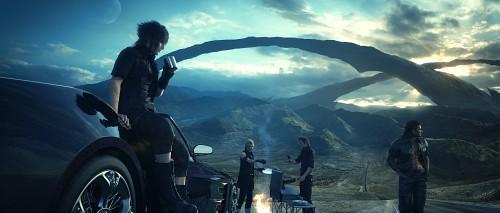 Square Enix, Final Fantasy XV, Gladiolus Amicitia, Noctis Lucis Caelum, Prompto Argentum