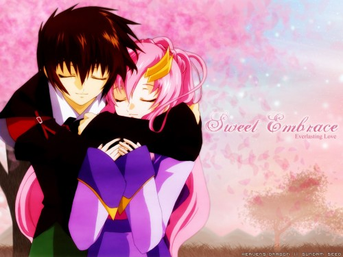 Sunrise (Studio), Mobile Suit Gundam SEED, Lacus Clyne, Kira Yamato Wallpaper